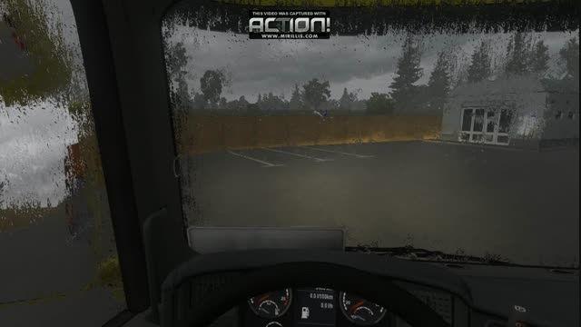 باران واقعی در یوروتراک2 و دورکند برف پاک کن  ورژن 1.17