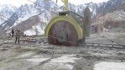 دیسک معدنی (معدن سنگ گرانیت شفق)