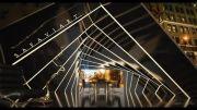 طراحی سازه نمایشگاهی سیال از شرکت معماری صفوی آرت