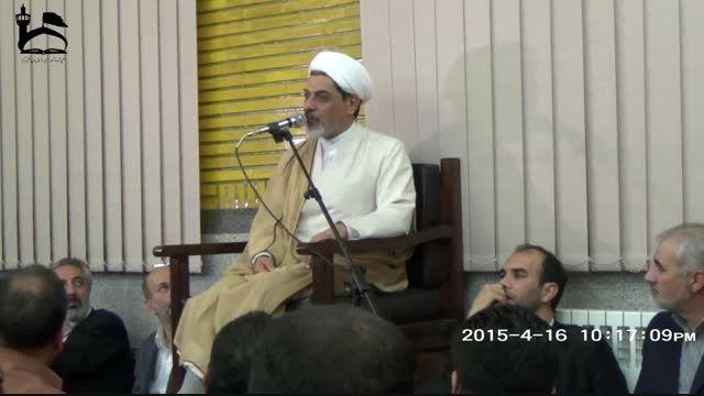 سخنرانی دکتر رفیعی سومین جلسه مجمع شور و شعور حسینی