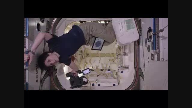 فیلمی جالب از اولین شبکه تلویزیونی ناسا در فضا