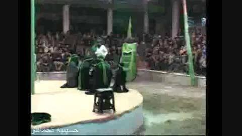 تعزیه شهادت امام حسین(ع) حسینیه تخماقلو