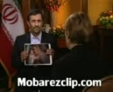 جواب جالب دکتر احمدی نژاد به مجری CBS