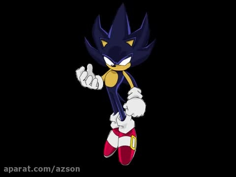 sonic the hedgehog AMV: Dark sonic, Dark silver y Dark