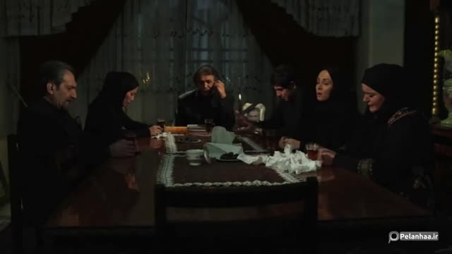 نعیمه نظام دوست در مراسم وصیت نامه خوانی فیلم رمز هفتم