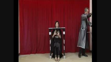 شعبده بازی جدا کردن سر از بدن توسط تورا مجیک