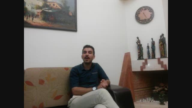 مهدی رضیئی - اجرای آهنگ بغض(مهدی یراحی) - اعجوبه های ۹۴