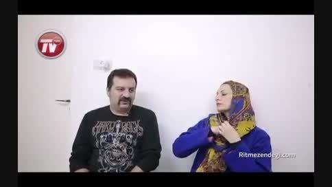 مهران مدیری دست مهراب قاسم خانی را در بدترین شرایط گرفت