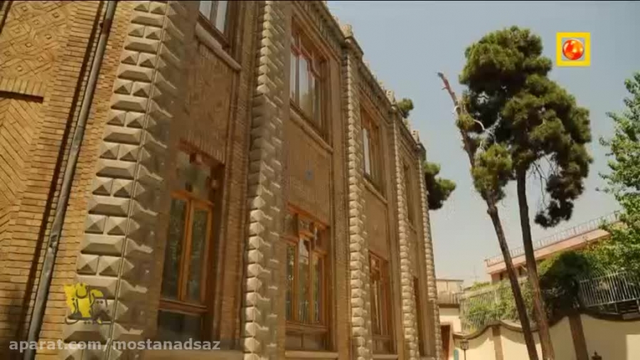 کوشک شگفت انگیز قاجاری! یکی از زیبا ترین بناهای قاجاریه