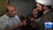 مباحثه حجت الاسلام سرلک با کمال تبریزی کارگردان فیلم مارمولک