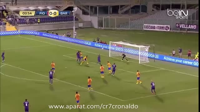 خلاصه بازی : بارسلونا 1 - 2 فیورنتینا (دوستانه)