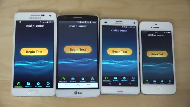 A5 vs Z3 Compact vs iPhone 5 vs  LGG3