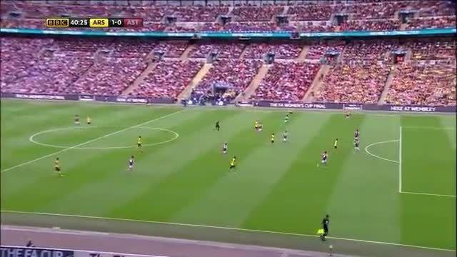 استون ویلا ۰ - آرسنال ۴ - فینال جام حذفی 2015