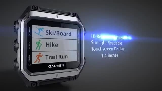 ساعت گارمین EPIX تنها ساعت با قابلیت نمایش نقشه