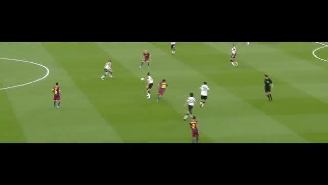 هایلایت بازی لیونل مسی مقابل منچستریونایتد (2012)