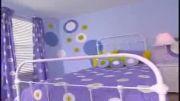 آموزش نقاشی دیوار اتاق کودک