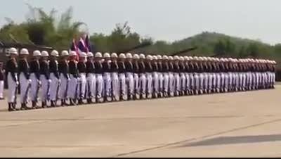 رژه زیبای ارتش تایلند