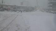 بارش برف در نوشهر1