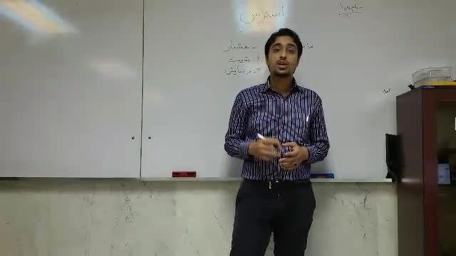 ابوالفضل برمر-مسابقه سخنرانی تریبون-استرس