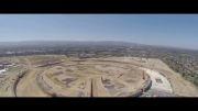 ویدئوی هوایی از کارگاه ساختمانی مقر اصلی اپل در آینده