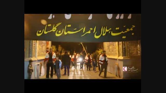 عزاداری محبان حضرت علی اکبر(ع)جمعیت هلال احمر گلستان