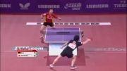 بازی تیمو بول و کیشیکاوا در پاریس(timo boll vs seiya kishikawa)