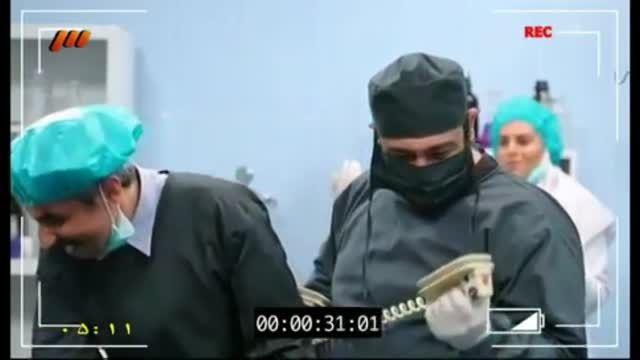 پشت صحنه در حاشیه مهران مدیری قسمت نوزدهم