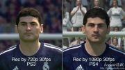 مقایسه ی PES 2015 در PS4 و PS3