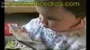 بچه درس خون
