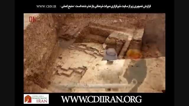 جزئیات کشف یک دروازه هخامنشی در ۳ کیلومتری تخت جمشید