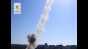 حمله موشکی مقاومت فلسطین علیه تلاویو