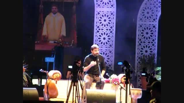 سامی یوسف- اجرای بیا که بریم به مزار در کنسرت تطوان2015