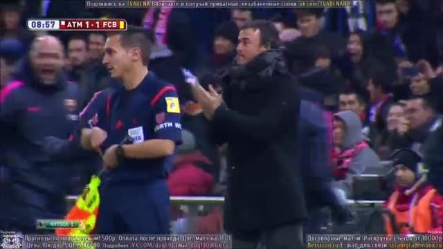 بارسلونا 3 - 2 اتلتیکو مادرید ( به مناسبت این هفته )