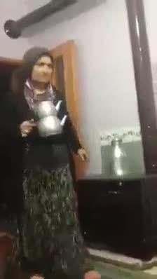 خنده دارترین ترساندن دنیا توسط یک زن ایرانی