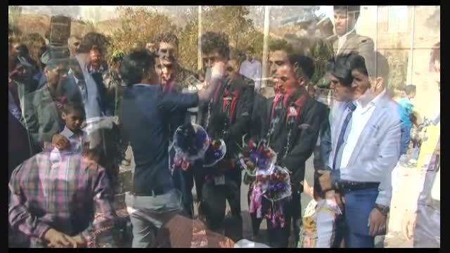 جشن عروسی اقای محمودی شهرستان تربت حیدریه روستای بیدوی