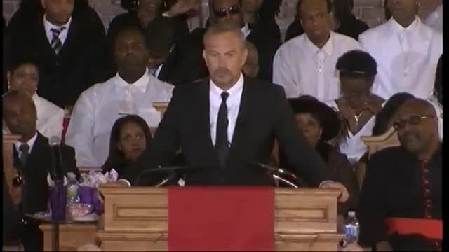 Kevin Costner's emotional speech in full at Whitney Hou