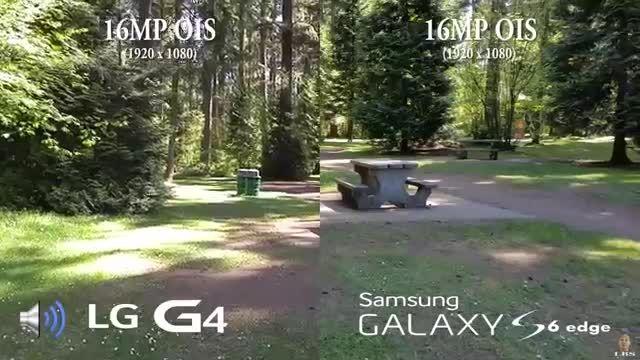 LG G4 vs Galaxy S6 Edge _Camera Comparison