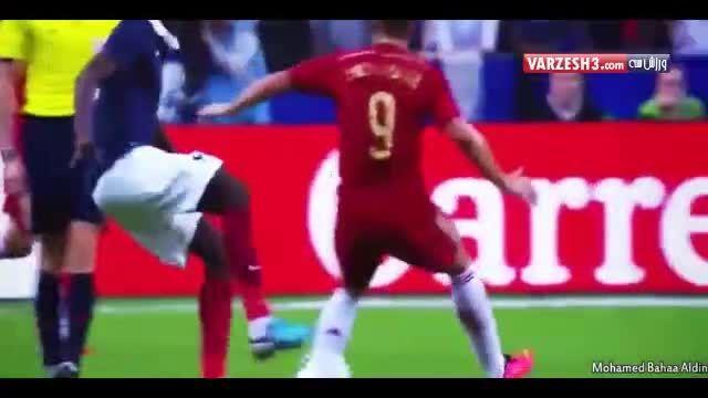 دریبل های دیوانه وار سلاطین فوتبال