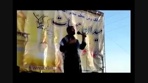 مداحی شهید مدافع حرم «نادر حمید»