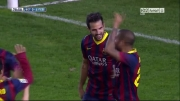 رئال بتیس 0 - 4 بارسلونا | گل فابرگاس