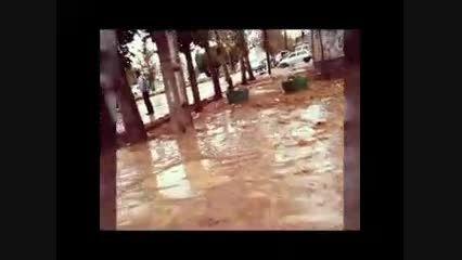 وضعیت شهرستان کوهدشت لرستان پس از سیل دیشب و امروز صبح