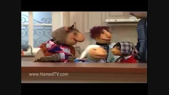 دستشویی پسر فامیل دور با لگن در وسط خونه!
