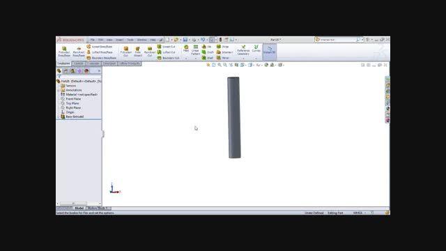 آموزش دستور Bend- نرم افزار solidworks