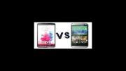 مقایسه گوشی ال جی جی 3  و اچ تی سی وان