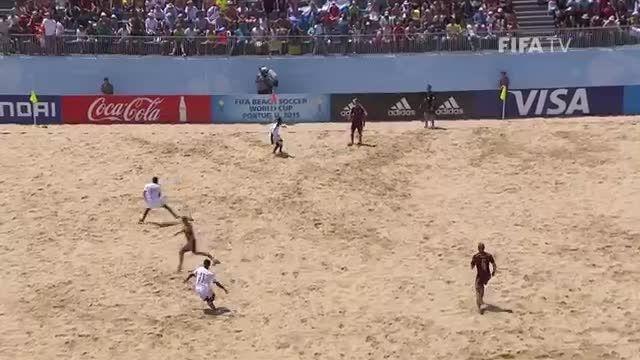روسیه VS ماداگاسکار (جام جهانی فوتبال ساحلی 2015)
