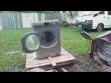 پاره آجر در ماشین لباسشویی