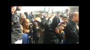 سینه زنی سنتی روز عاشورا حسینیه اعظم شهر کاکی1393_2