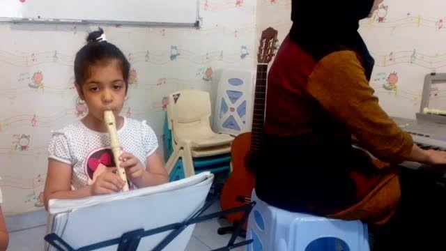 دوره ی ارف کودکان (فلوت)در آموزشگاه موسیقی رادمهر