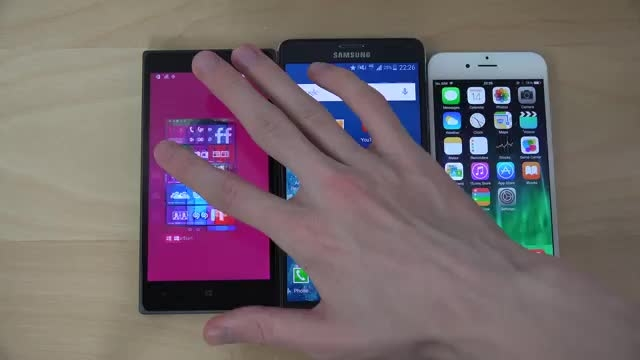 مقایسه سرعت بوت Windows 10  Android 5.0  ios 8.3