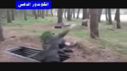 سوریه مغز متفکر وطراح عملیات وهابیون (نخندید) زشته